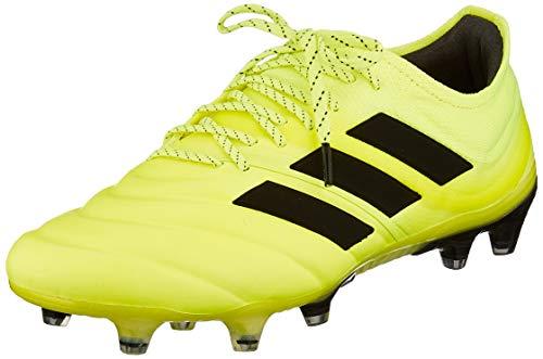 adidas Copa 19.1 FG, Hombre, Amarillo (Solar Yellow/Core Black/Solar Yellow 0), 41 1/3 EU