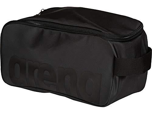 ARENA Unisex – Erwachsene Schuhtasche Waschbeutel Team All Black, one Size