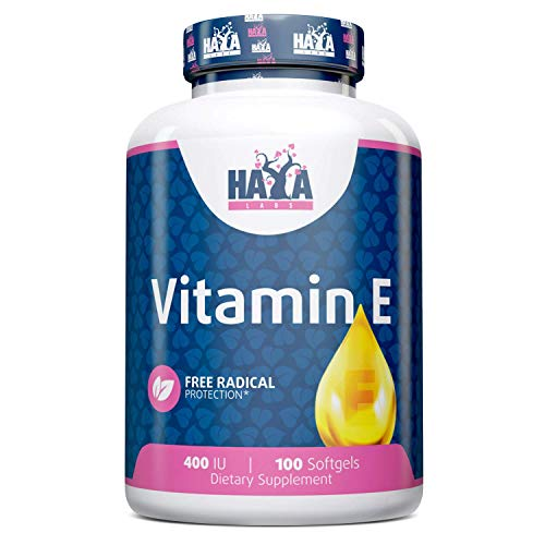 Haya Labs Vitamin E 400 IU 100 Softgels