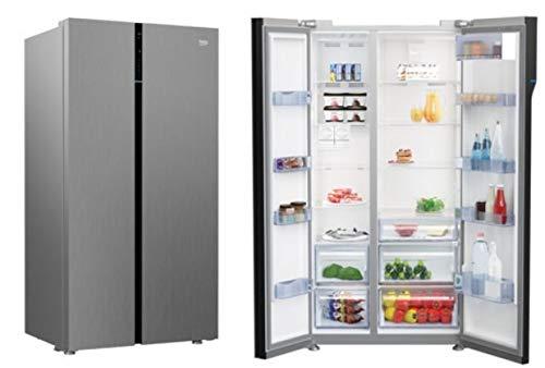 Réfrigérateur américain 625 litres A+ Neo Frost couleur inox