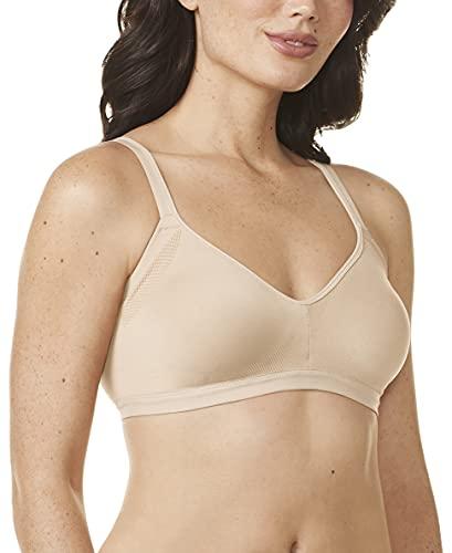 Warner's Women's Easy Does It No Bulge Wire-free Bra, Butterscotch, L