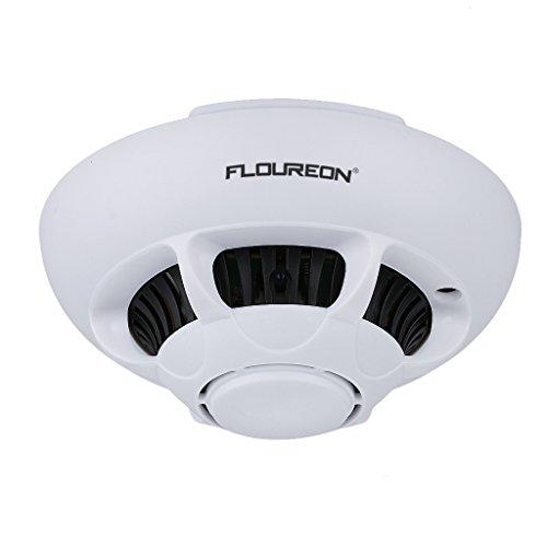 Floureon Kamera Überwachung Bebe (enthält 16g tf Karte, Nachtsicht, WLAN, iPhone, Android, Windows, Mac), weiß
