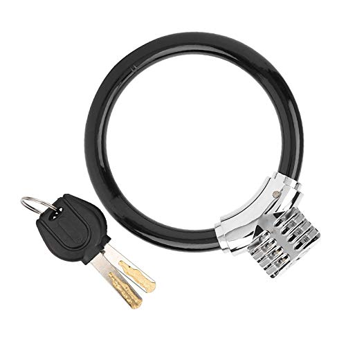 CHENMAO Forma de Anillo Anti □ Cable de Cable de Bicicleta Durable Durable, Cable de Seguridad Bicicleta Bicicleta Anti - Robo, 1 Set para Muebles Diarios Bicicleta de Bicicleta