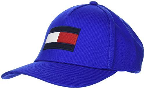 Tommy Hilfiger Flag Cap Casquette De Baseball, Bleu (Surf The Web 435), Unique (Taille Fabricant: OS) Homme