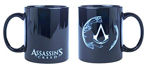 Assassin's Creed Tasse Animus aus Keramik, dunkel blau.