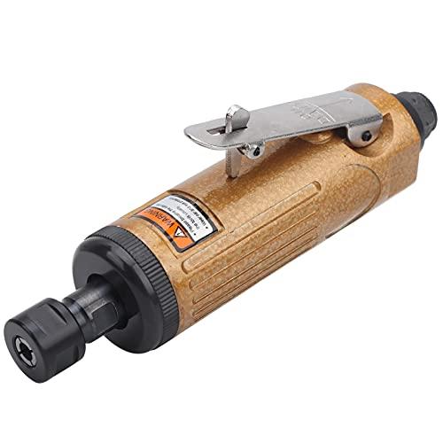 Mini amoladora de matriz recta de aire, KP-621 Amoladora de matriz de aire Amoladora neumática que ahorra trabajo Amoladora angular manual de usos(European style)