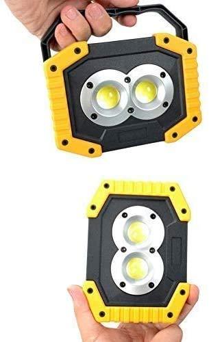 Foco Led Bateria Luz de Trabajo Recargable LED al Aire Libre, Luces de Camping de 30W COB Recargable para Acampar para Acampar al Aire Libre Luces de Seguridad de la Pesca LQHZWYC