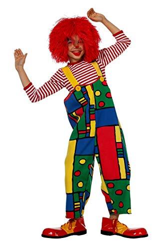 Kinderkostüm Clown-Latzhose, Gr. 164