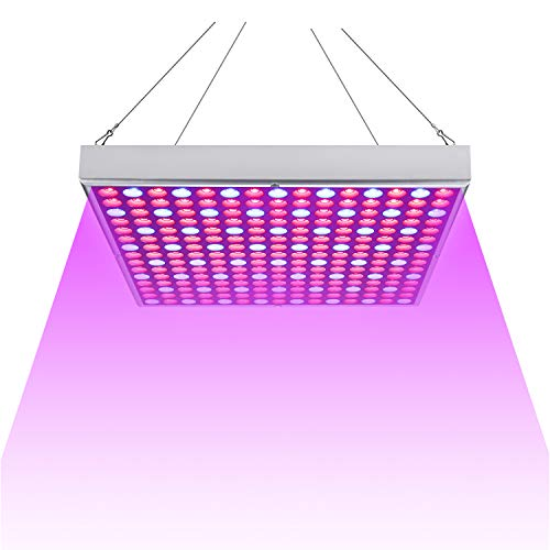 Hengda 15W LED Pflanzenlampe, Pflanzenlicht Vollspektrum, Pflanzenleuchte mit Rot Blau Licht, Grow Lamp für Zimmerpflanzen Gemüse und Blumen im Gewächshaus, Wachstumslampe LED