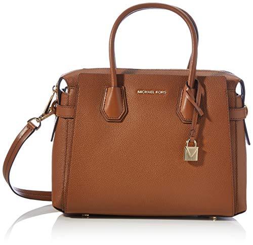 Michael Kors Mercer, Bolsa de noche para Mujer, Luggage, Medium