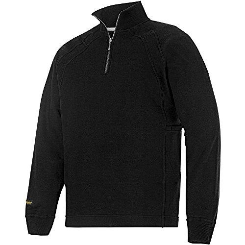 Snickers 28130400004 Sweat-shirt zippé avec MultiPockets Taille S noir