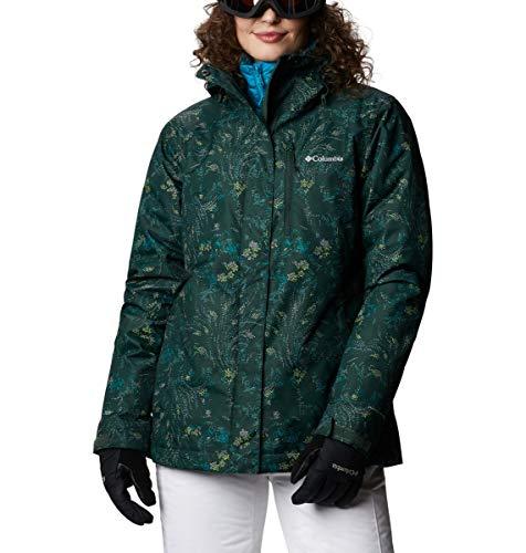 Columbia Whirlibird IV Interchange Jacke für Damen, Fichte, gepunktet, Blumendruck, Größe XS