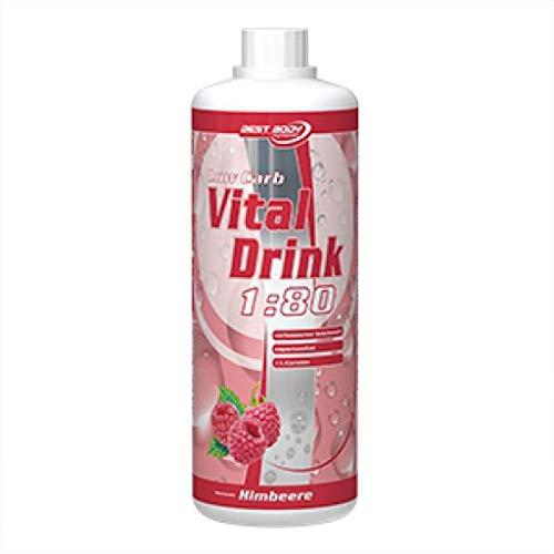 Best Body Nutrition Low Carb Vital Drink 2 x 1 Liter 2er Pack Brazilian Sun