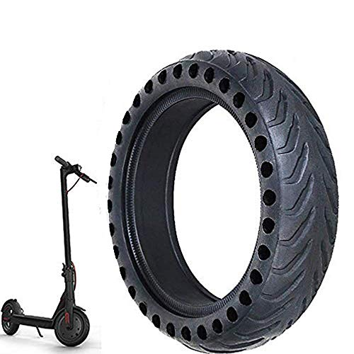 Wghz Neumático de Scooter eléctrico, neumático antipinchazos Patín de Scooter eléctrico Neumático de Rueda antipinchazos de Alto Rendimiento Neumático Delantero/Trasero de Repuesto Neumático de