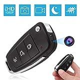 Jiyibidi 1080P Tragbare Mini Autoschlüssel Überwachungskamera, Kleine Kamera mit Bewegungserkennung und Infrarot Nachtsicht