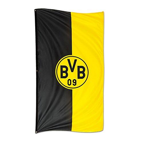 BVB-Hissfahne im Hochformat (100x200 cm)