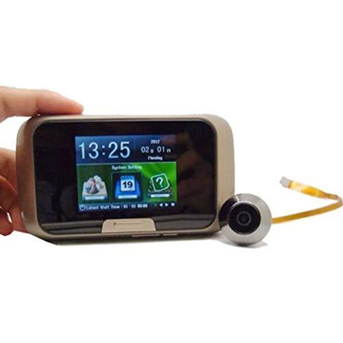 XGLL Video-Türklingelspion mit Kamera, türspion Kamera,Großbild-HD-Smart-Türspion Video-Türklingel, Nachtsicht