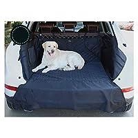 Jlxl 犬のためのカーブーツカバー、防水カーブーツライナープロテクター、サイドの保護と滑り止めアンチスクラッチブートプロテクターマットは、SUV、バン&トラック、ほとんどの車に適合します (Color : Gray)