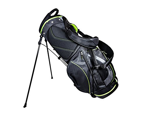 Club Champ Deluxe Stand Golf Bag Black/Green