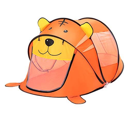 CSQ Bedroom Play Tent, Boys'Pop Up Tent Portable Lightweight Tent/Indoor Marine Ball Pool/Orange - 93 * 180 * 95CM Children's play house (Color : Orange - A, Size : 93 * 180 * 95CM)