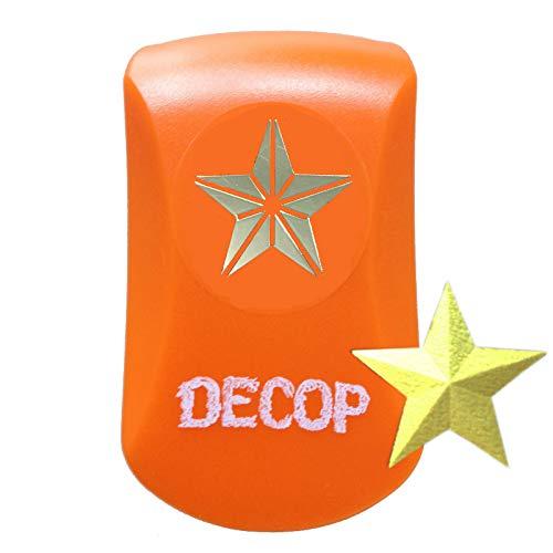 Paper Intelligence DECOP クラフトパンチ エンボスパンチ 3Dスター スモール 4109086