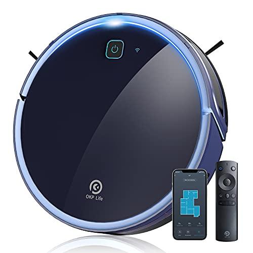 OKP K7 Robot Blue Vacuum Cleaner