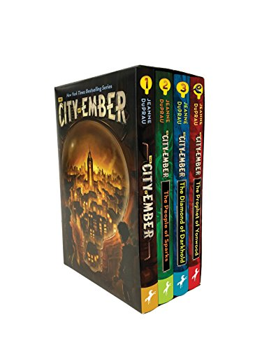 The City of Ember Complete Boxed Set (The City of Ember; The People of Sparks; The Diamond of Darkhold; The Prophet of Yonwood)