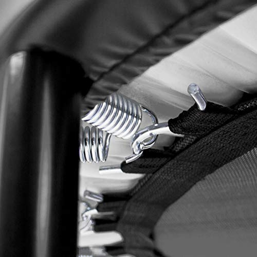 KOMODO Mini Indoor Trampoline 40-48 Inch Rebounder Aerobic Fitness Home Gym (40 Inch)