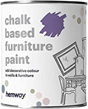 Hemway Racing Green Chalk Based Furniture Paint Matt Finish Wall and Upcycle DIY Home Improvement 1L / 35oz Shabby Chic Vintage Chalky (50+ Colours Available)