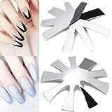 2pcs French Nail Cutter Manicure