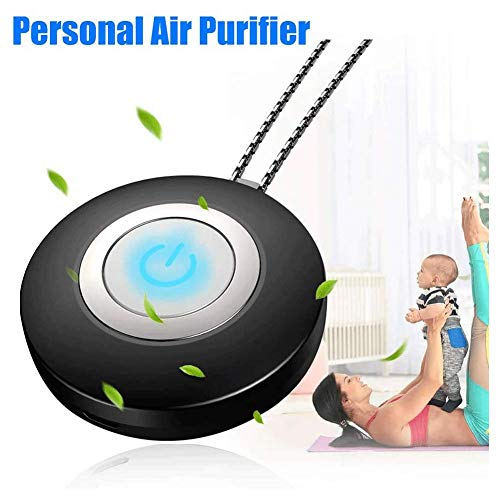 Review HUWAI-F Personal Air Purifier Necklace, Portable Wearable Air Purifier, Remove Allergies Odor...