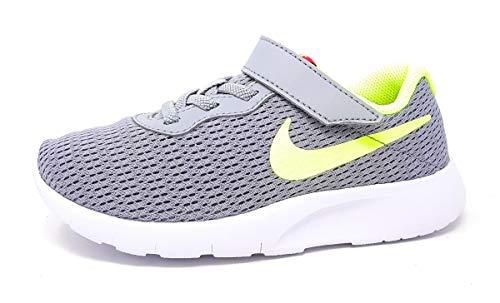 Nike Tanjun (PSV), Chaussures d'Athlétisme garçon, Multicolore (Wolf Grey/Volt/Rush Pink 000), 27.5 EU