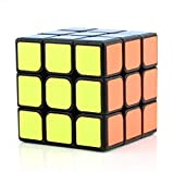 CuberSpeed Moyu Mofang Jiaoshi 3x3 Black Magic Cube Cubing Classroom MF3 Black 3x3x3 (Guanlong Plus) Speed Cube