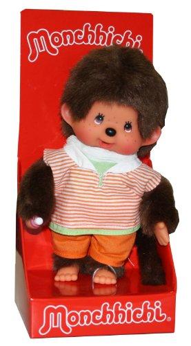 Sekiguchi 222960 - Monchhichi Junge im orangem Shirt