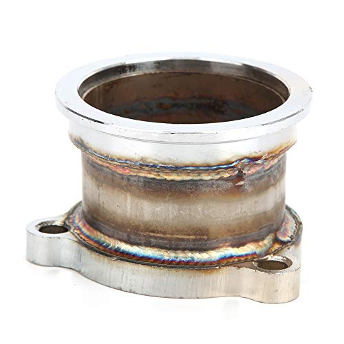 Flange Adapter, 2.5in T3 T4 T04E 3 Bolt Holes to 2.5in V-Band Turbo Downpipe Adapter Flange