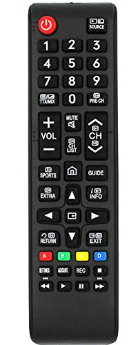 Ersatz Fernbedienung for Samsung TV UE40K5589 UE40K5600 UE40K5650 UE40K5659 UE40K5670 UE40K5679