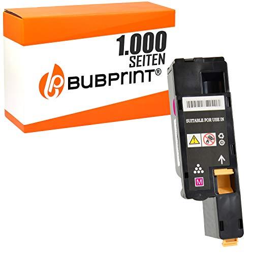Bubprint Toner kompatibel für Dell 593-11128 4J0X7 für C1660 W C1660W C 1660 W 1.000 Seiten Magenta