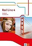 Red Line 4: Workbook mit Audio-CD Klasse 8 (Red Line. Ausgabe ab 2014) -