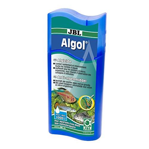 JBL - Limpiador de algas «Algol» para acuariofilia - 100 ml (Para 1000 l) ✅