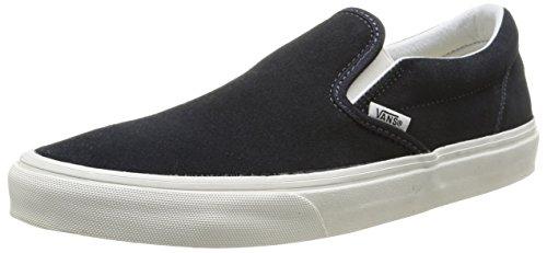 Vans U Classic Slip-On, Zapatillas de Estar por casa Hombre^Mujer, Vintage/Blue Graphite/Blanc, 43 EU