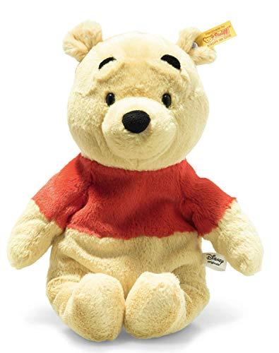 Steiff Winnie Puuh Soft Cuddly Friends Disney Originals Puuh-29 cm-Kuscheltier für Kinder-weich & kuschelig-waschbar-blond (024528)