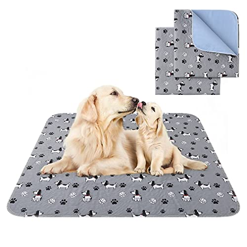 PAWCHIE Washable Pee Pads for Dogs, Non-Slip Reusable Pee Pads, Waterproof Puppy Potty Training Pad...
