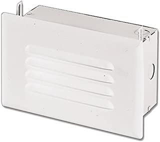 HALO H2920ICT, Step Light, IC, Incandescent, with Louver Face Plate, No Junction Box Or Bar Hangers
