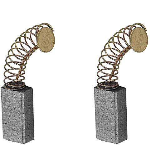 Juego de 2 cepillos de carbono compatibles Bosch CSB 650-2 RE/CSB 650-2 RET, 16 x 8 x 5 mm, pieza de repuesto para taladros, lijadoras y sierras circulares Bosch.
