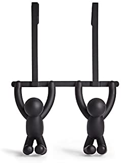 Umbra 1004260-040 Buddy Double Otd Hook Black, 21.59 x 6.35 x 31.75 cm