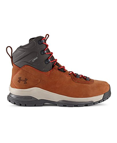 Under Armour Noorvik GTX Boot - Men's Tundra/Charcoal/Red 8.5