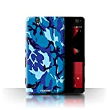 Stuff4 Phone Case for Sony Xperia C4 Camouflage Army Navy