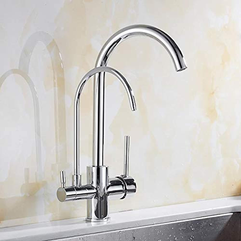 Küchenarmaturen 3-In-1 Galvanik Heie Und Kalte Küchenwasserfilter Wasserhahn Waschbecken Wasserhahn