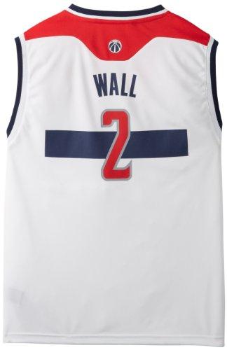 NBA Washington Wizards John Wall Youth 8-20 Replica Home Jersey, X-Large, White
