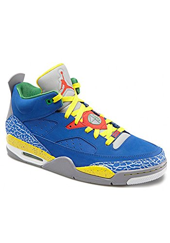 Air Jordan Son Of Mars Low - Gym Royal / White-True Yellow-Grey, 11 D US